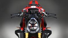 Il fanale anteriore della MV Agusta Brutale 1000 RR