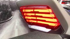 Il fanale posteriore della Honda CB-F Concept