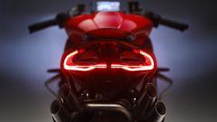 Il fanale posteriore della MV Agusta Brutale 1000 RR