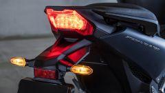 Il fanale posteriore dell'Honda Forza 750