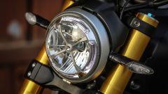 Il faro della Ducati Scrambler 1100 Sport ha la funzione DRL