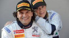 Il fenomenale duo Andreucci, Andreussi - Peugeot Sport Rally