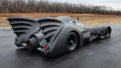 Il fianco della Batmobile all'asta