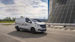 Il Fiat Talento ha quattro configurazioni: furgone, trasporto persone, crew cab e pianalato