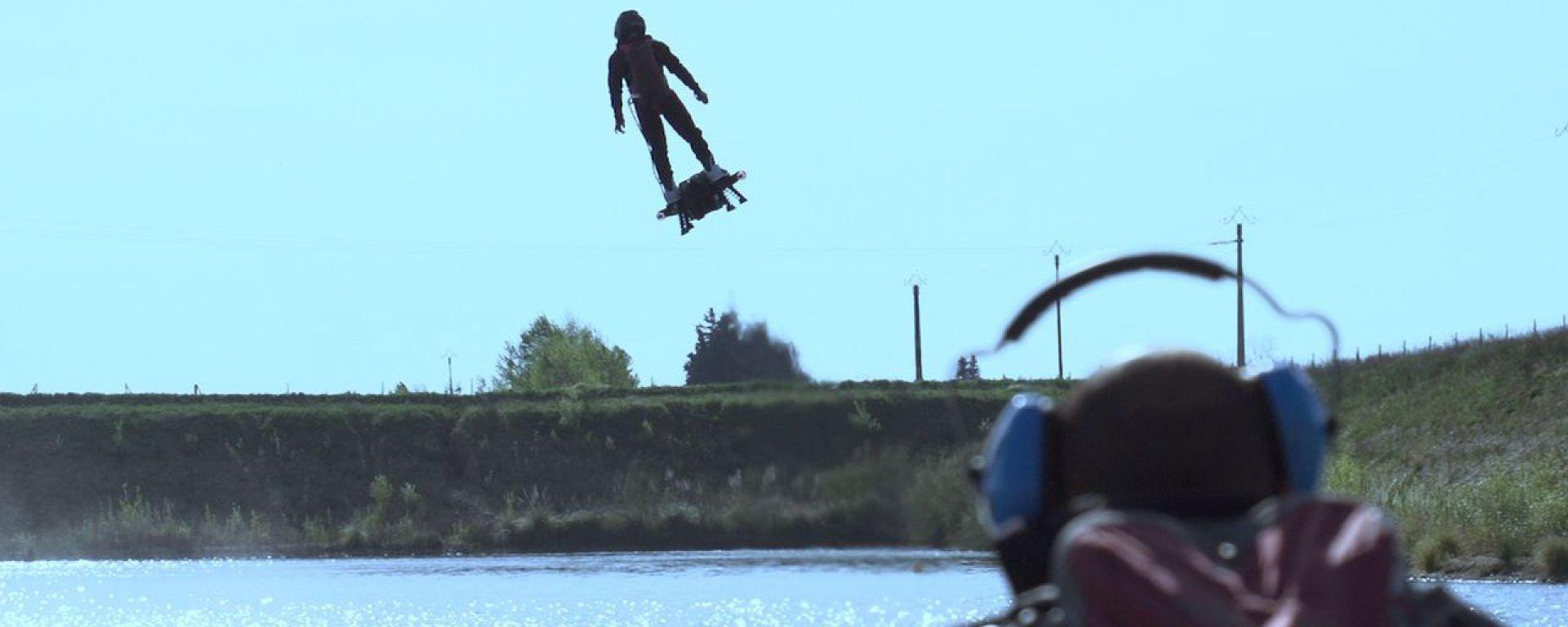 Il Flyboard Air di Zapata Racing entra nel Guinness World Record