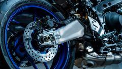 Il forcellone della Yamaha MT-09 SP