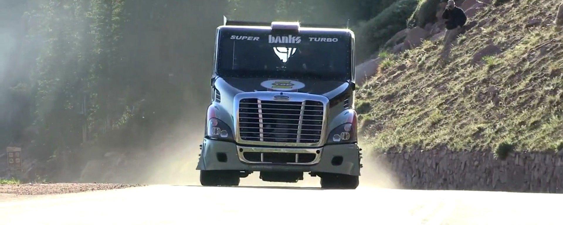 Il Freightliner alla Pikes Peak 2013