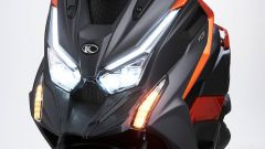 Il frontale del Kymco DT X360