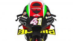 Il frontale della Aprilia RS-GP 2020
