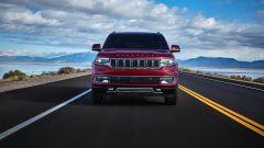 Il frontale della Jeep Wagoneer 2021