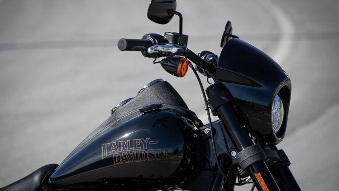 Il frontale della Low Rider S