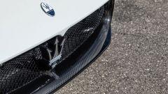 Il frontale della Maserati MC20