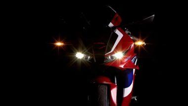 Il frontale della nuova Honda CBR600RR