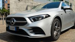 Il frontale sharknose della Mercedes Classe A 250 e