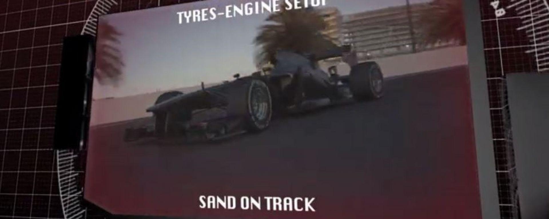 Il GP di Abu Dhabi visto dai cordoli