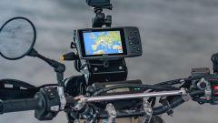 Il kit Adventure Sports dedicato alla Honda CRF450L dispone di supporti per GPS, Smartphone o altri device elettronici