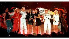Il lancio della McLaren MP4/12 del 1997 con le Spice Girls