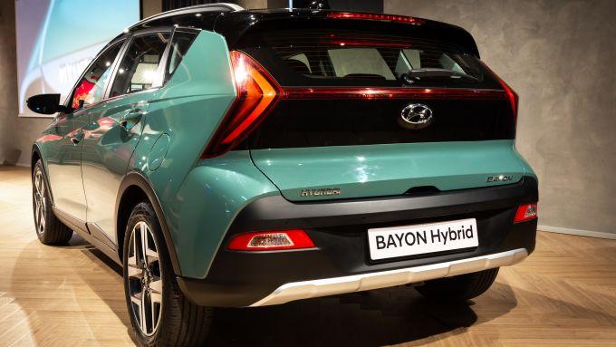 Il lato B di Hyundai Bayon