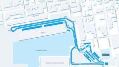 Il layout del circuito di Brooklyn - Formula e 2017/2018