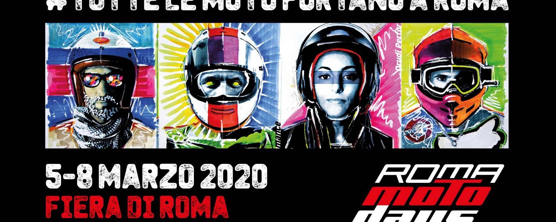 Il logo dei Roma Motodays 2020