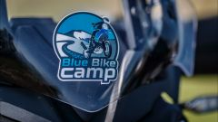 Il logo del Blue Bike Camp, il corso in fuoristrada di Daniele Madrigali