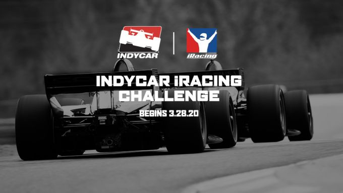 Il logo della IndyCar iRacing Challenge