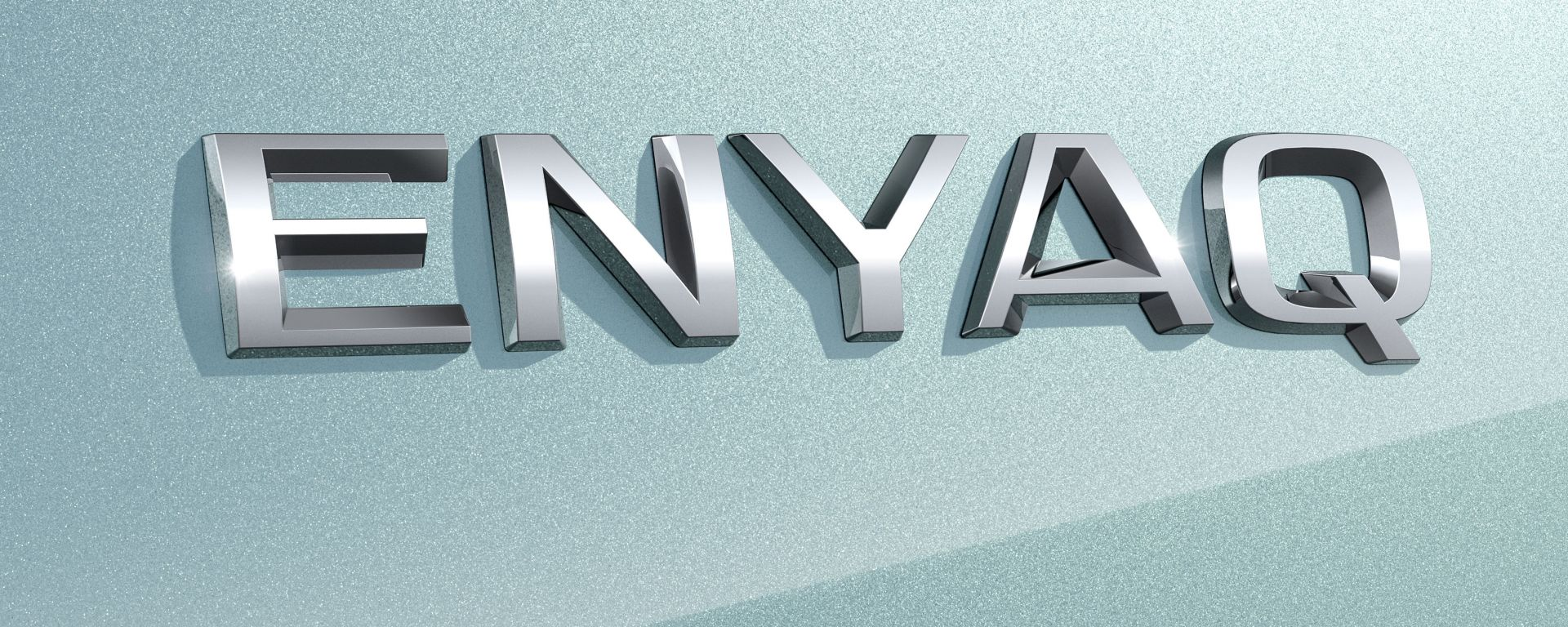 Il logo di Skoda Enyaq