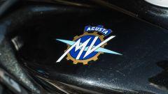Il logo MV Agusta sulla Superveloce 800