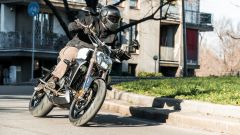 Il look della Zontes 310V è da moto