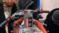 Il lubrificante Motul utilizzato nella EMP Mig X, la moto elettrica creata dagli studenti del Politecnico di Mosca