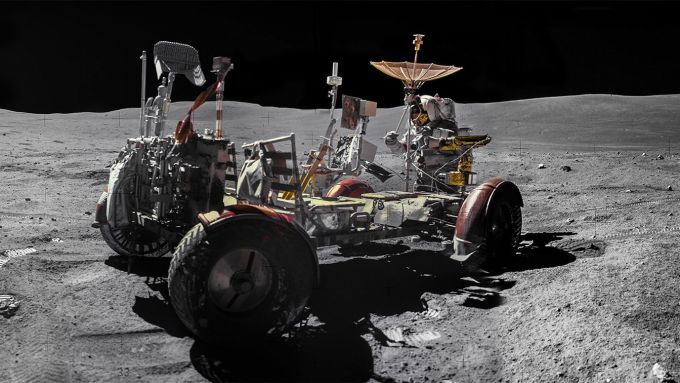 Il Lunar Roving Vehicle di Apollo 16