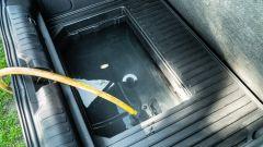 Il MegaBox di Ford Puma ha un tappo a tenuta stagna sul fondo