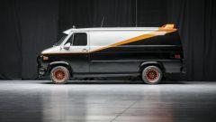 Il mitico furgone dell'A-Team, vista laterale