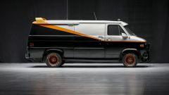 Il mitico furgone dell'A-Team visto dall'altro lato