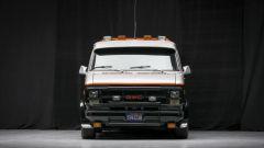 Il mitico furgone dell'A-Team visto di fronte