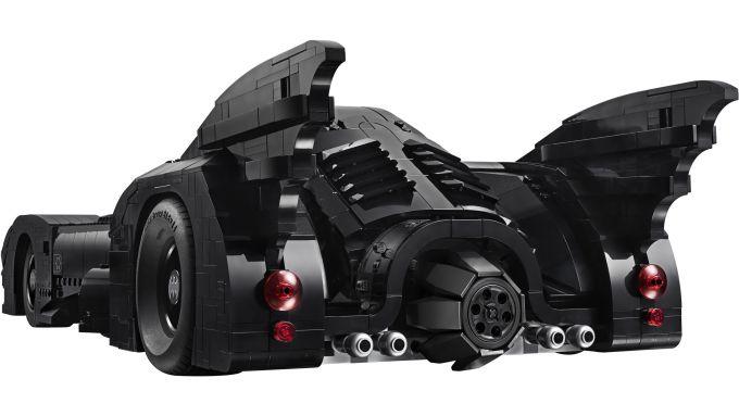 Il modello della Batmobile LEGO