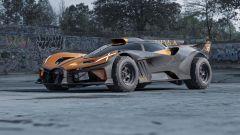 Il mostruoso rendering di Yasid Design: Bugatti Bolide in versione Safari