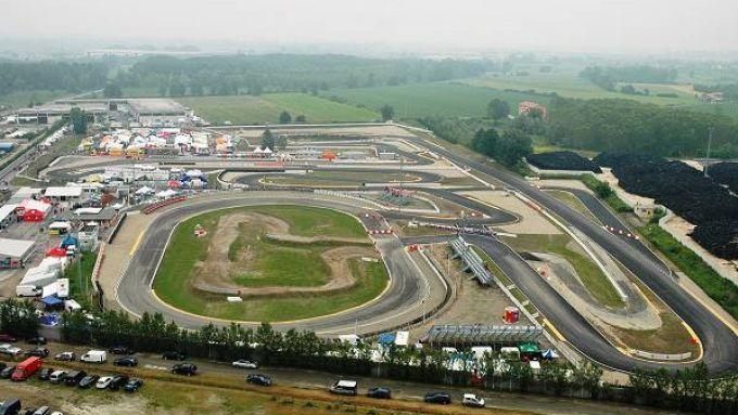 Il motodromo di Castelletto di Branduzzo