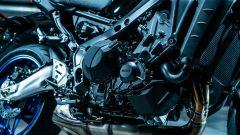 Il motore a tre cilindri della Yamaha MT-09 SP