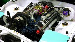 Il motore Chevrolet LS1 oggetto dell'engine swap della Mazda MX-5