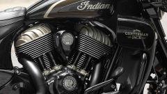 Il motore Dark Horse della Indian Roadmaster Jack Daniel's Limited Edition