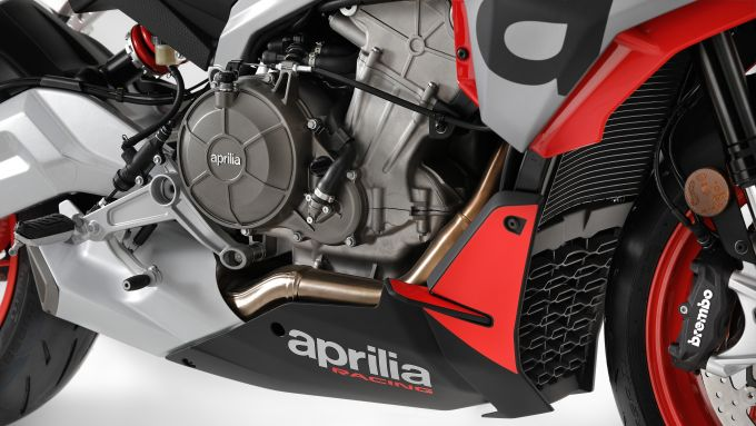 il motore della Aprilia Tuono 660