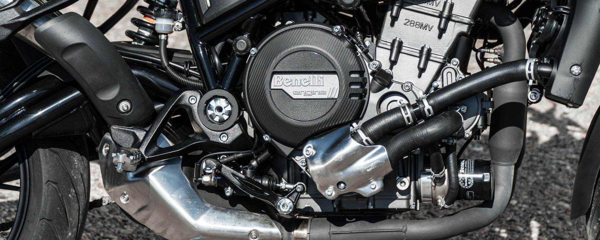 Il motore della Benelli 752 S sarà lo stesso della Benelli TRK 800