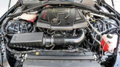 Il motore della Giulia Veloce a benzina