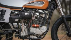 Il motore della Harley-Davidson XR-750R