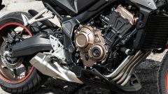 Il motore della Honda CB650R 2021