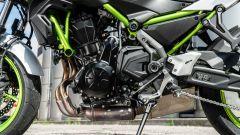 Il motore della Kawasaki Z650 2021