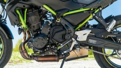 Il motore della Kawasaki Z650