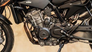 Il motore della KTM 890 Duke
