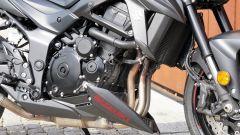 Il motore della Suzuki GSX-S 750 Yugen deriva dal mitico 750 cc della GSX-R 750 K5